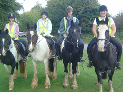 Pony Trekking offered at Dunton Stables