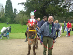 Donkey Ride Events at Dunton Stables