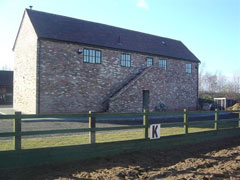 Dunton Stables horse holidays accommodation block