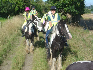 Learn to Ride Break at Dunton Stables